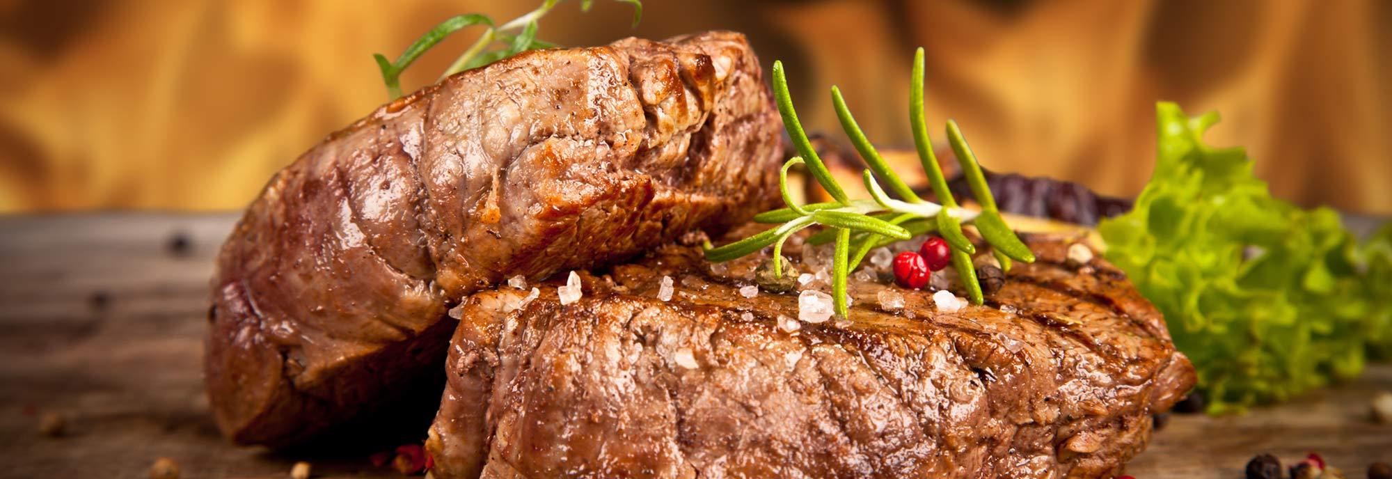 Fleisch Gerichte
